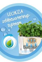 Het LECHUZA-zelfbewateringssysteem